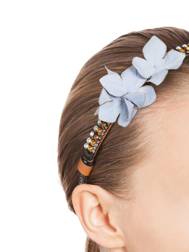 Marni Head band with wisteria crystals Woman - 2