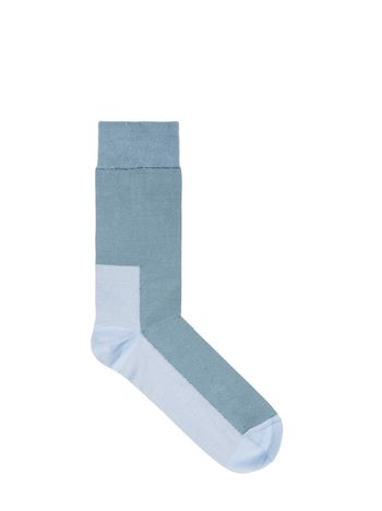 Marni Socks in contrasting-coloured cotton Man