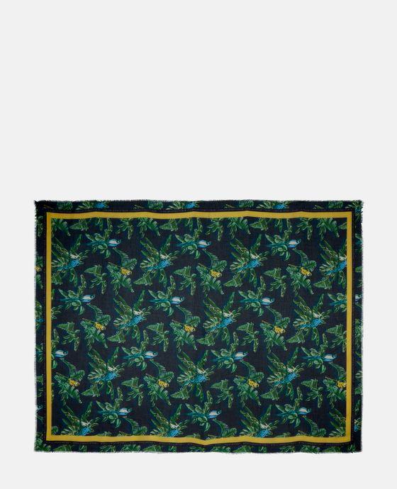 Paradise 印纹围巾