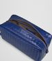 BOTTEGA VENETA COBALT BLUE INTRECCIATO BEAUTY CASE Other Leather Accessory Man ap