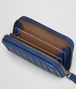 BOTTEGA VENETA COBALT BLUE INTRECCIATO COIN PURSE Card Case or Coin Purse Man ap