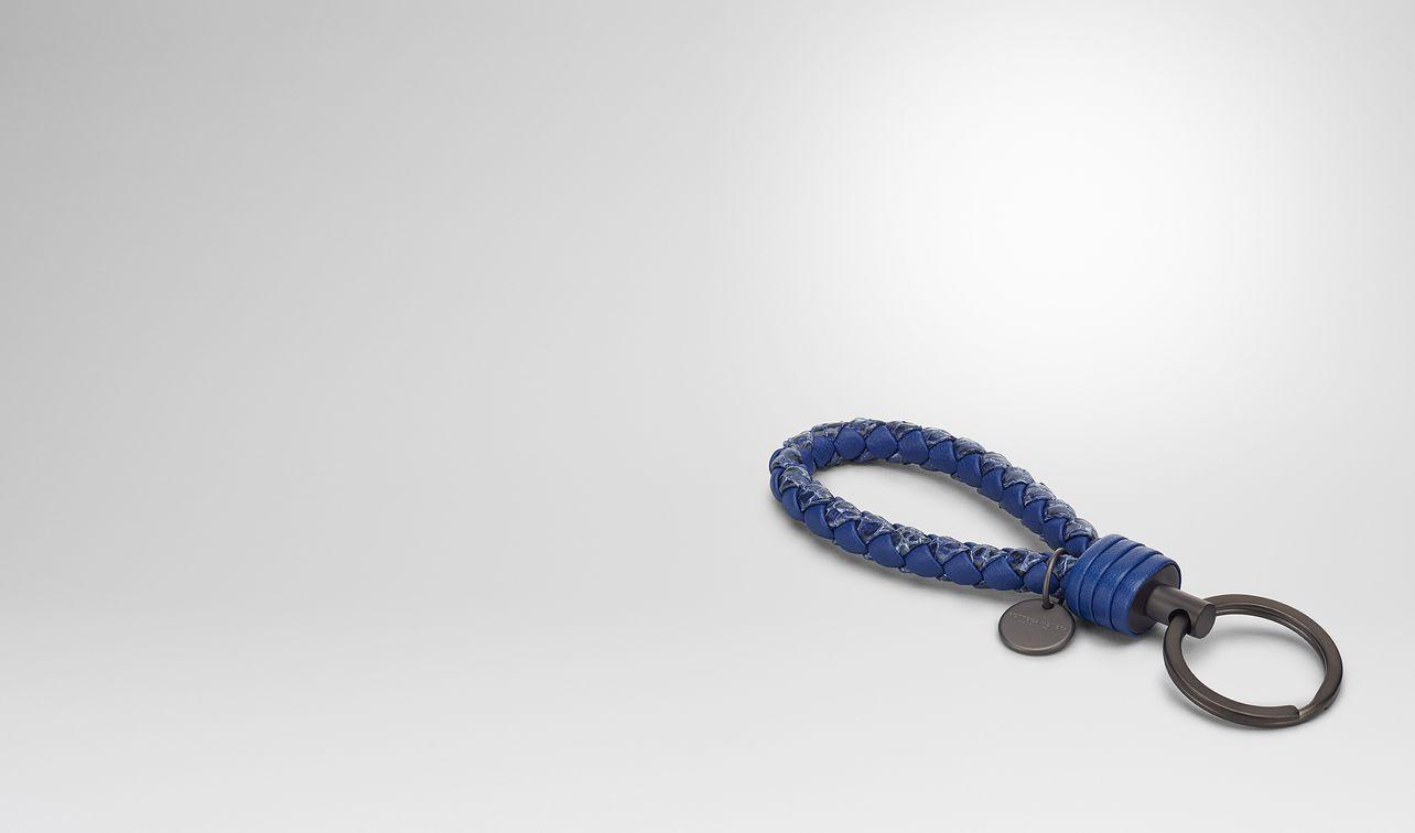 cobalt intrecciato ayers key ring landing