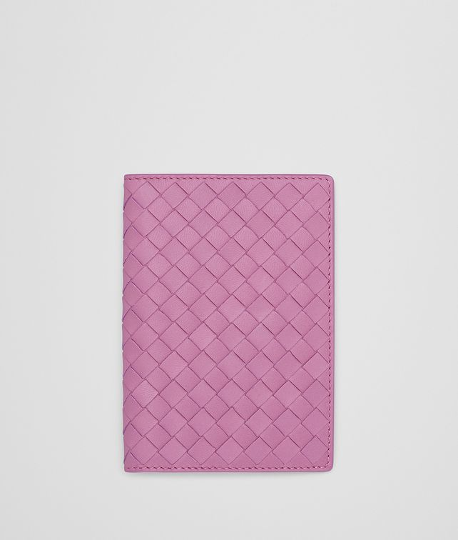 BOTTEGA VENETA TWILIGHT INTRECCIATO NAPPA PASSPORT CASE Other Leather Accessory E fp