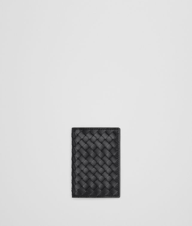 BOTTEGA VENETA NERO INTRECCIATO CARD CASE Card Case [*** pickupInStoreShippingNotGuaranteed_info ***] fp
