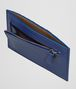 BOTTEGA VENETA COBALT INTRECCIATO CALF CARD CASE Card Case or Coin Purse E ap