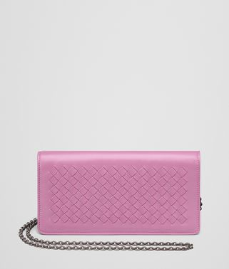 TWILIGHT INTRECCIATO NAPPA CONTINENTAL WALLET