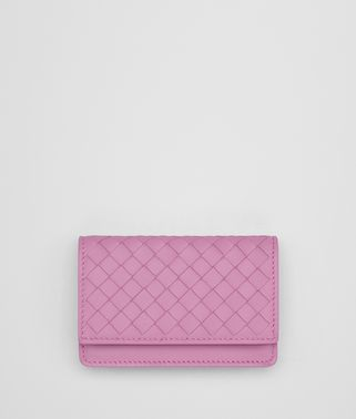 TWILIGHT INTRECCIATO NAPPA CARD CASE