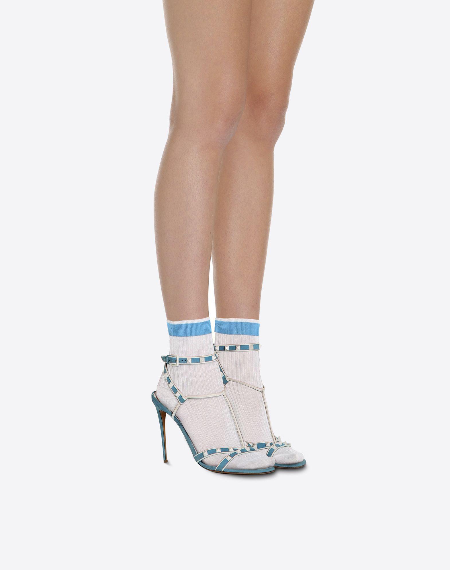 VALENTINO Silk Knitted Socks Socks D r