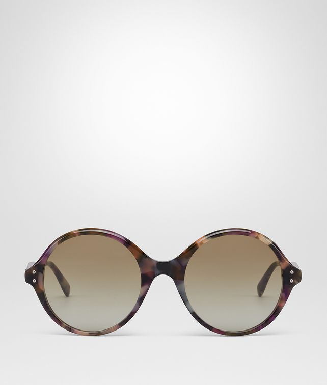 BOTTEGA VENETA MULTICOLOR ACETATE SUNGLASSES Sunglasses [*** pickupInStoreShipping_info ***] fp