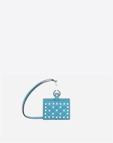 VALENTINO GARAVANI COIN PURSES & CARD CASES D Free Rockstud Spike Badge Holder f