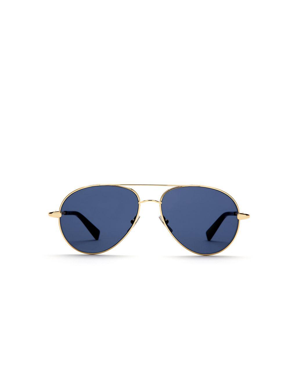 BRIONI Gold Aviator Sunglasses with Blue Lenses Sunglasses       pickupInStoreShippingNotGuaranteed info     51ccefc8433