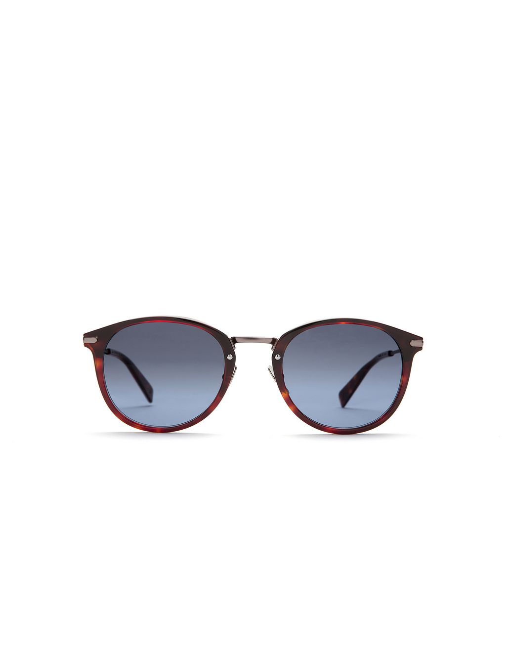 BRIONI Shiny Dark Havana Sunglasses with Silver Gradient Lenses Sunglasses [*** pickupInStoreShippingNotGuaranteed_info ***] f