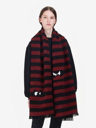 Monster 条纹围巾