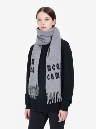 Écharpe avec logo McQ Repeat