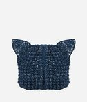 KARL LAGERFELD Cat Beanie Metallic 8_r