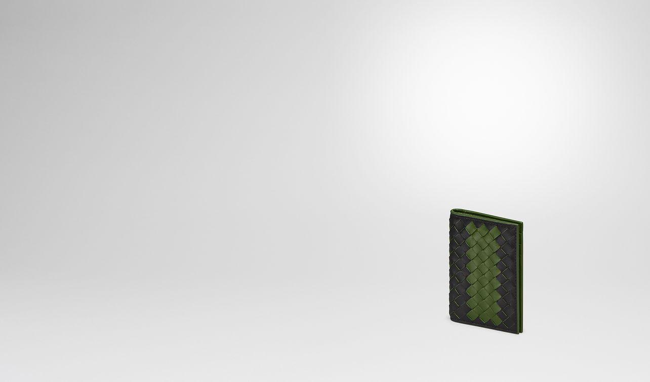 nero ivy intrecciato nappa card case landing