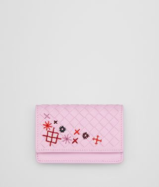 DRAGEE INTRECCIATO MEADOW FLOWER CARD CASE