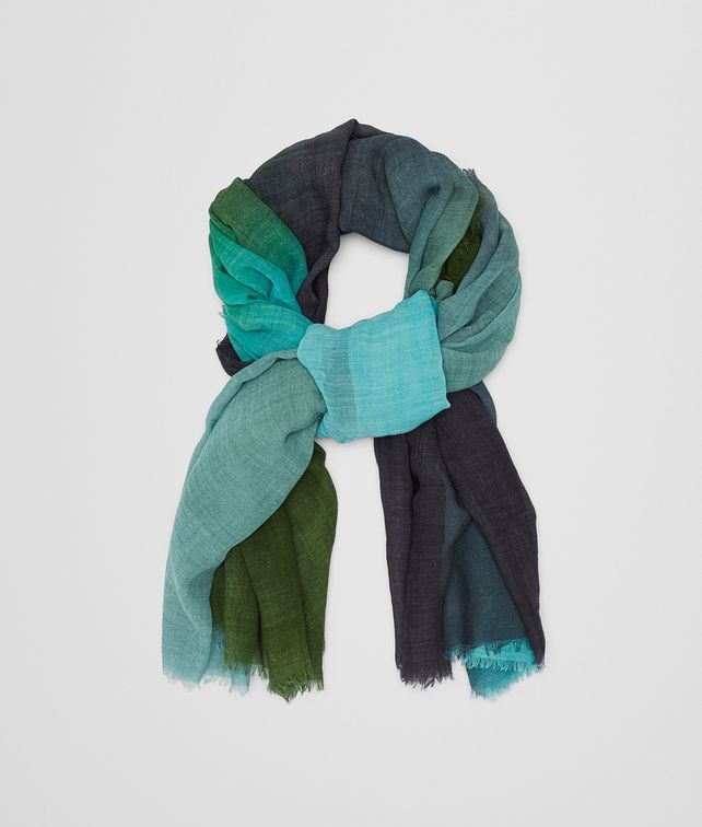 BOTTEGA VENETA MULTICOLOR WOOL SCARF Scarf Woman fp