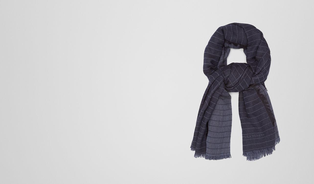 midnight blue wool scarf landing