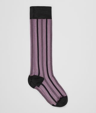 LIGHT GLICINE SILK SOCK