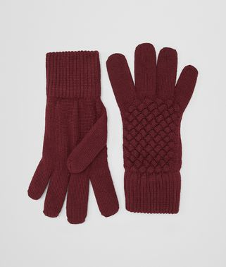 AMARANTH WOOL GLOVE