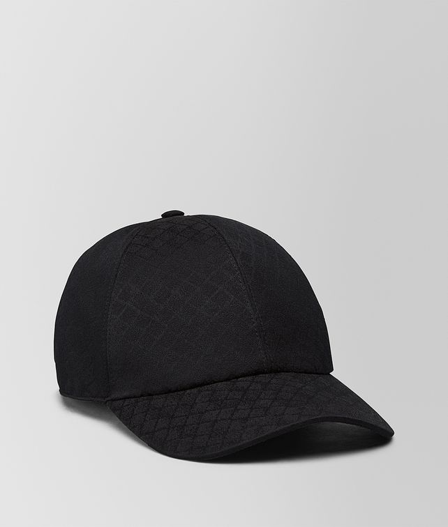 BOTTEGA VENETA NERO COTTON BASEBALL CAP Socks       pickupInStoreShippingNotGuaranteed info      3114f40ca0a