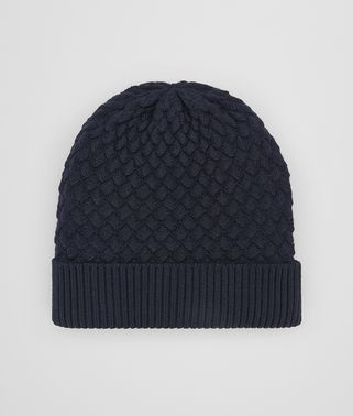 ASPHALT BLUE WOOL HAT
