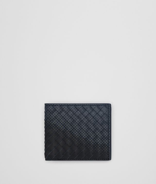 BOTTEGA VENETA DENIM INTRECCIATO NAPPA WALLET Bi-fold Wallet [*** pickupInStoreShippingNotGuaranteed_info ***] fp