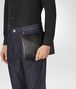 BOTTEGA VENETA NERO INTRECCIATO NAPPA GALAXY POUCH Other Leather Accessory E ap