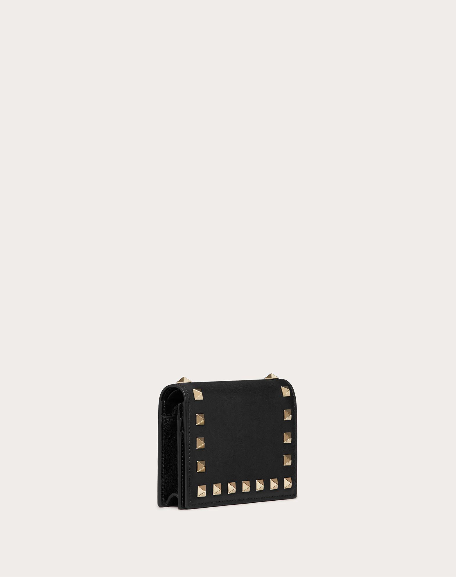 VALENTINO GARAVANI Compact Rockstud Wallet COMPACT WALLETS D e