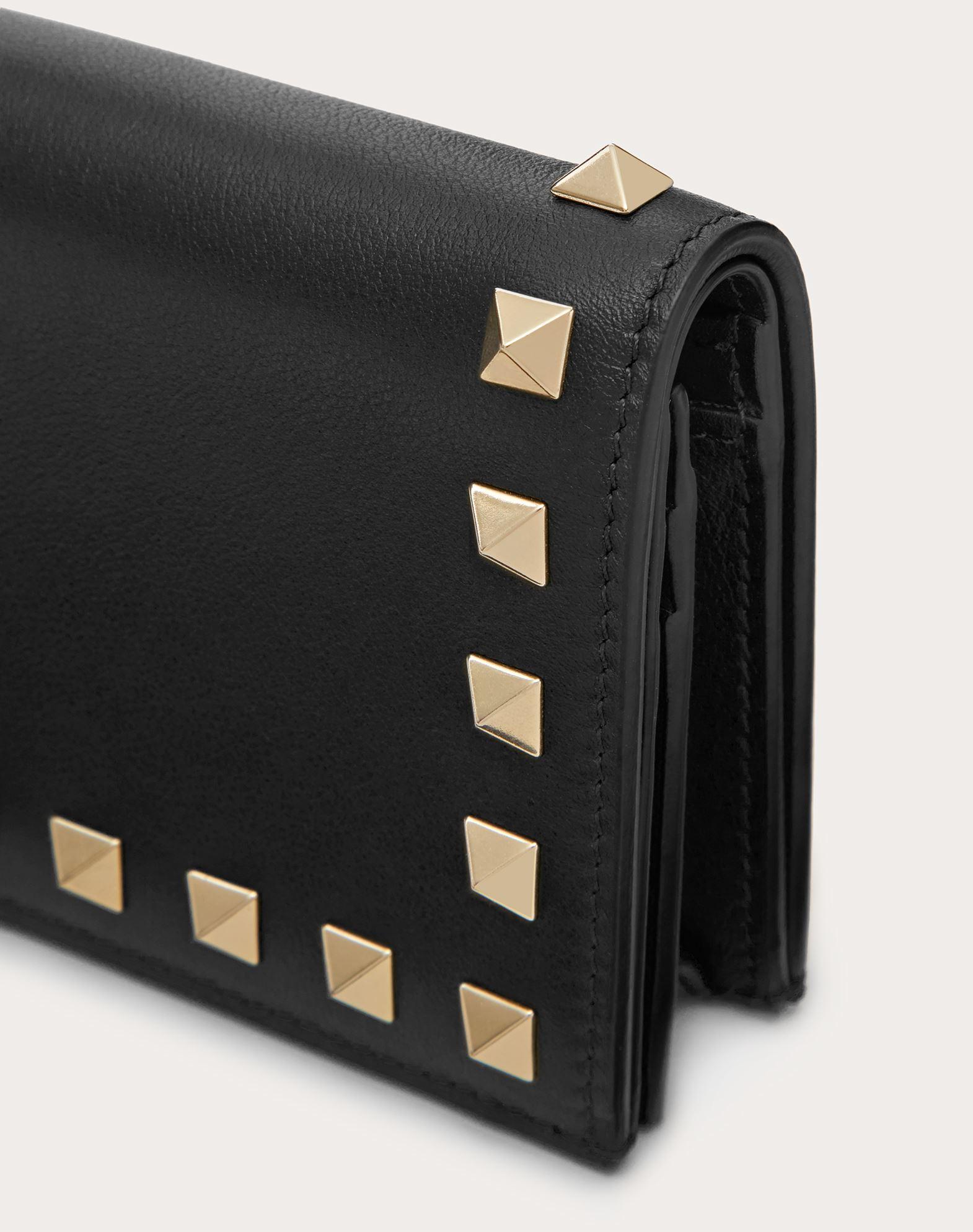 VALENTINO GARAVANI Compact Rockstud Wallet COMPACT WALLETS D r