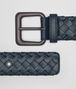 BOTTEGA VENETA DENIM INTRECCIATO CALF BELT Belt Man rp