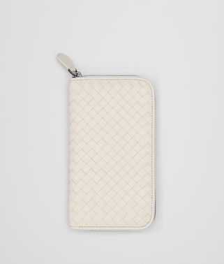 MIST INTRECCIATO NAPPA ZIP-AROUND WALLET