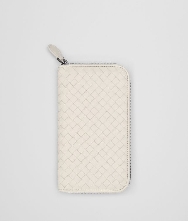 BOTTEGA VENETA MIST INTRECCIATO NAPPA ZIP-AROUND WALLET Zip Around Wallet [*** pickupInStoreShipping_info ***] fp