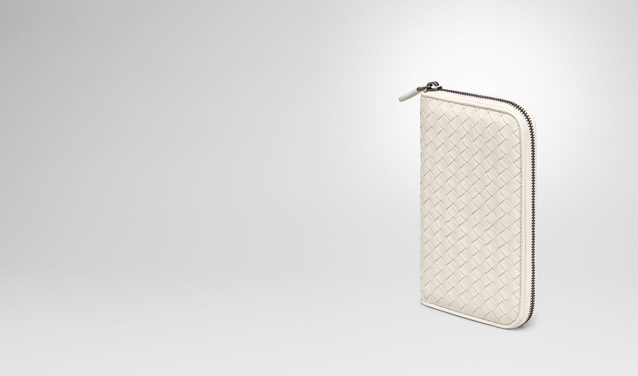 mist intrecciato nappa zip-around wallet landing