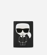 KARL LAGERFELD K/Ikonik Passport Holder 9_f
