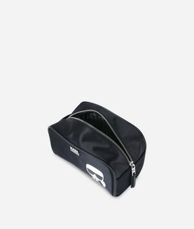 KARL LAGERFELD K/IKONIK TOILETRY BAG