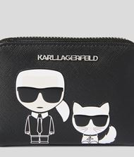KARL LAGERFELD K/Ikonik portemonnaie zippé  9_f