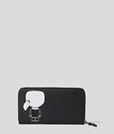 KARL LAGERFELD K/Ikonik Zipper Wallet 8_d