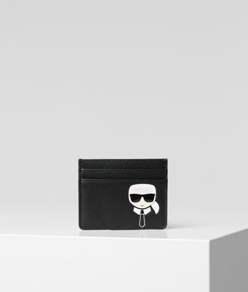 KARL LAGERFELD K/IKONIK CARD HOLDER