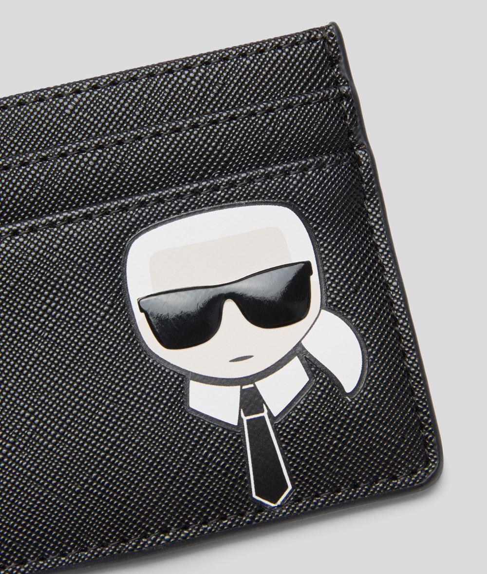 KARL LAGERFELD K/Ikonik Card Holder Cardholder E d