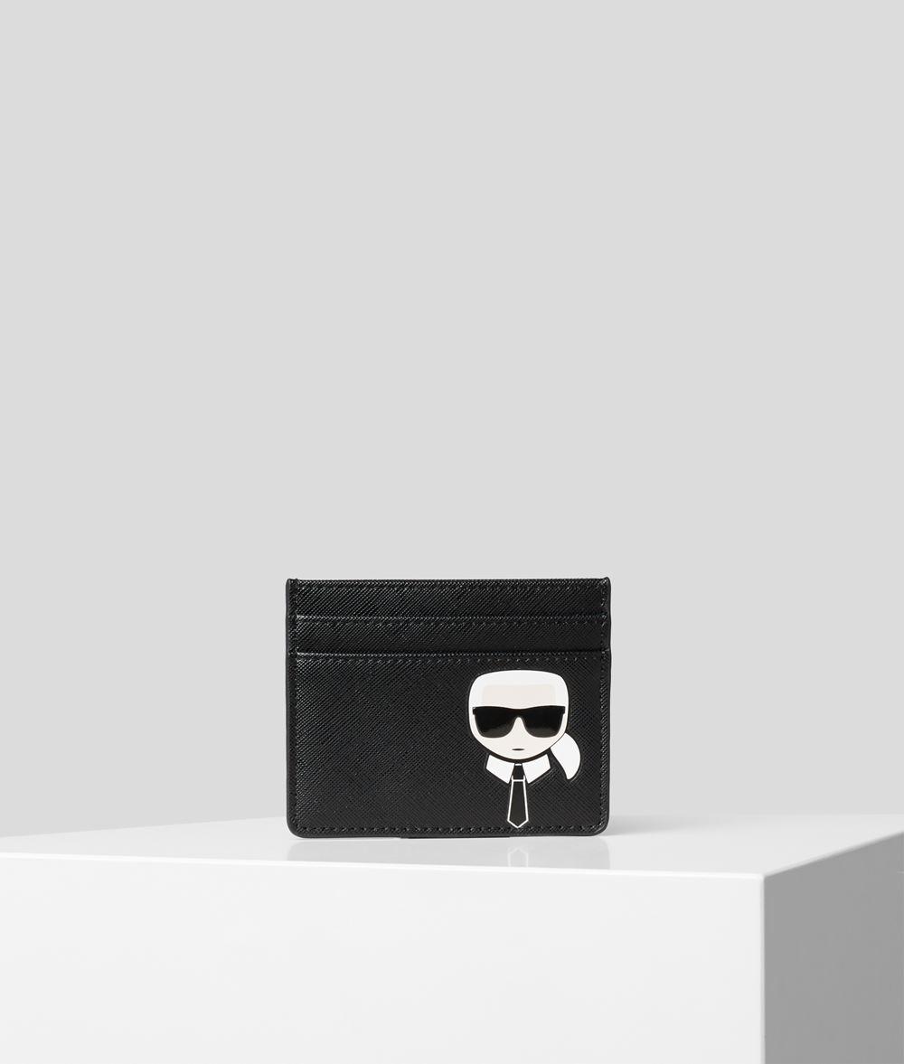 KARL LAGERFELD K/Ikonik Card Holder Cardholder E f