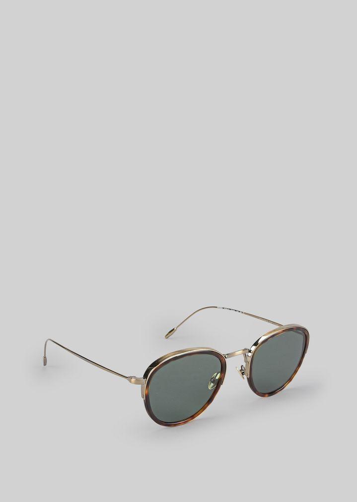 b04097ebe4 Sunglasses In Metal And Acetate | Man | Giorgio Armani