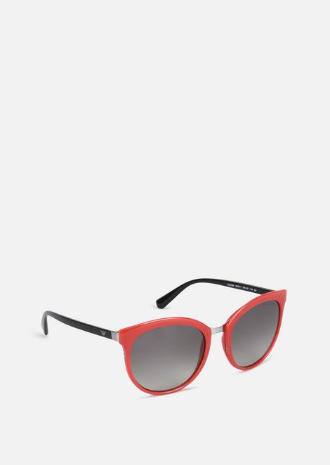 Cat-Eye Sunglasses With Graduated Lenses