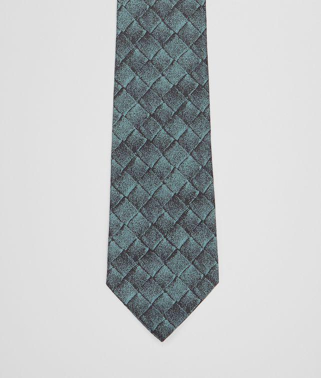 BOTTEGA VENETA MIDNIGHT BLUE SILK TIE Tie Man fp