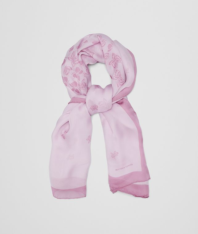 BOTTEGA VENETA ROSE SILK SCARF Scarf [*** pickupInStoreShipping_info ***] fp