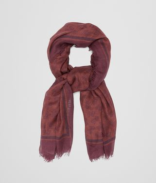 AMARANTH SILK SCARF