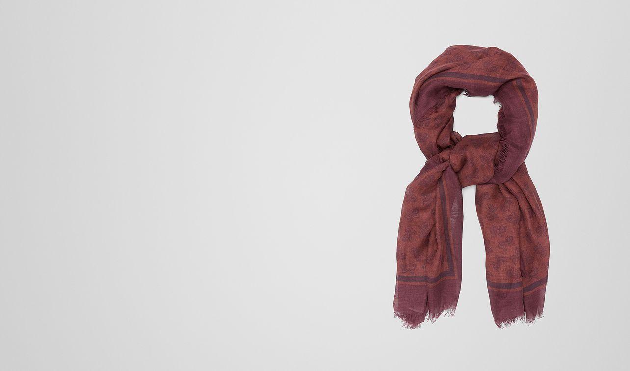 amaranth silk scarf landing