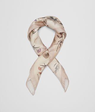 ベージュ シルク スカーフ