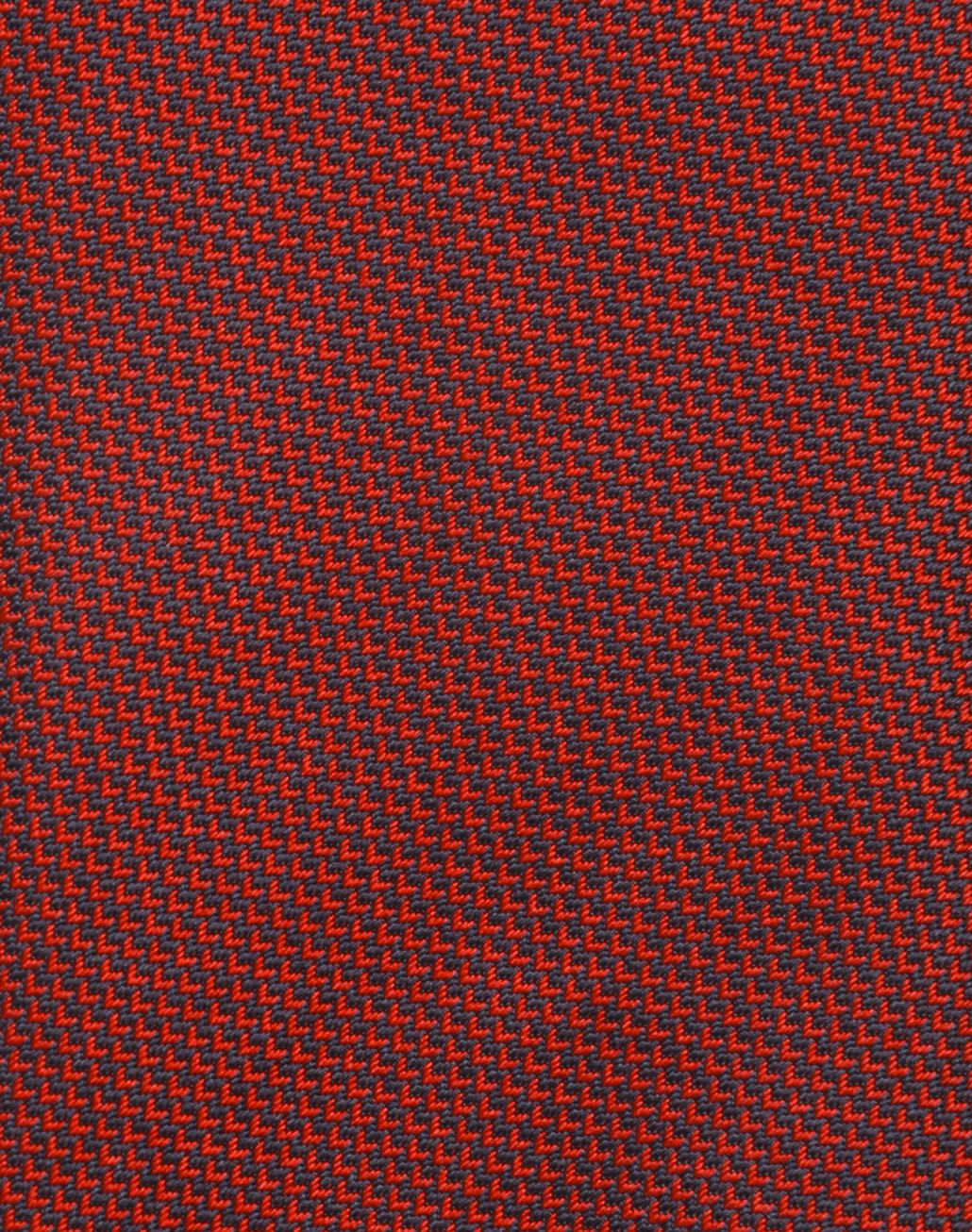 BRIONI Red and Navy Blue micro-designed Tie Tie Man d